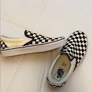 New checkered vans